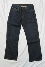 Nudie Jeans Slim Jim NJ2825 DRY NAVY ORGANIC W31 L28 Organic Cotton HEMMED