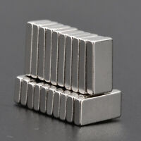 20pcs Strong Magnets Block Square Rare Earth Neodymium Small Magnet 10X5X2mm