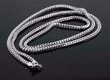 New Jewelry Stainless Steel Hip Hop Franco Chain Necklace CNM1004-36