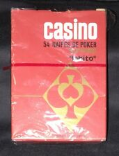 """Vintage Argentina Plastic Playing Cards ~ """"Lobito"""" ~ Very Rare, only one on eBay"""