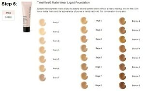 MARY KAY TimeWise Matte-Wear, AND MEDIUM COVERAGE FOUNDATIONS CHOOSE 1