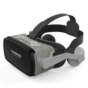 Virtual Reality 3D Glasses Box Stereo Wireless VR Google Cardboard IOS Android