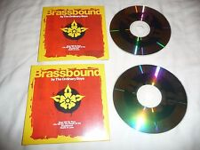 2 X BRASSBOUND THE ORDINARY BOYS  4 TRACK PROMO CDs