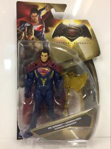 Epic Superman V Batman Figura Mattel DJG35 Nuevo