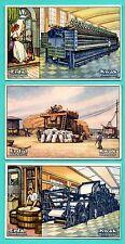 Germany ERDAL KWAK Mechanism lot of 6 Vintage cards 208