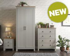 Lancaster Grey/Oak 3 Piece Bedroom Set, Assembly Option, LOCAL DELIVERY