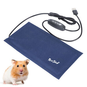 High Quality Safety Electric Heated Heating Warm Bed Pad Mat Reptile Pet Cushion