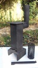 Miniature Cuisinière à charbon bois brûleur de Pellets Chauffage Pour Garage Atelier Hangar mobile U
