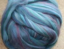 Merino Wool Top Roving Bermuda Multi Color 1 oz