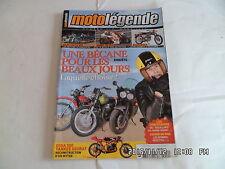 MOTO LEGENDE N°210 03/2010 ADLER CONTRE NSU SUZUKI B100 P YANKEE SEURAT   E16