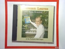 John BowdlerAutumn Leaves CD Technics GA3 Organ Nr Mint