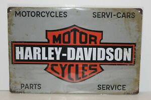 HDMS18 Harley - Davidson Motor Cycles  Metal Sign New 30 cm W X 20 cm H
