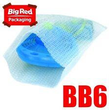 250 x #06 Bubble Wrap Bags Pouches 150x390mm Bubblewrap Bubblebags