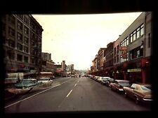 RA17 ORIGINAL KODACHROME 1960s 35MM SLIDE ODEON THEATER STREET SCENE MEXICO