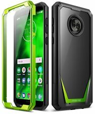 Poetic Guardian Full-Body 360 Degree Protection Case for Motorola Moto G6 Green