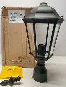 Maxim Lighting Westlake 1-Light Black Outdoor Pole/Post Mount-1005BK