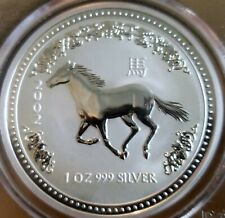 ~☆AWESOME☆~ MS-69 2002 Australia HORSE PCGS 1 OZ SILVER GORGEOUS looking coin!!!