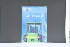 John Deere SG2 quiet cabs original tractor sales brochure 1982 with 6 pages