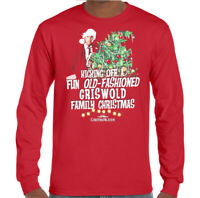 GRISWOLD CHRISTMAS T-SHIRT National Lampoons Vacation Family XMAS Tee Top