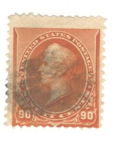 Scott 229 Early US Stamp 90c Perry.1890-93