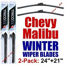 2008-2012 Chevrolet Chevy Malibu  WINTER Wipers 2-Pack Winter Blades 35240/35210