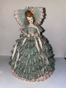 Victorian Lady Figurine Lace Original Heirlooms of Tomorrow