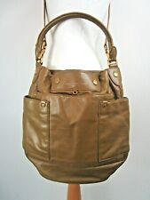 Marc Jacobs Olive Green Slouchy Leather Bag