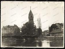 Landshut-Bayern-Kirche-Gebäude-Architektur-Fassade-Brücke-1930 er Jahre