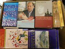 42 Bücher Hardcover Romane Sachbücher verschiedene Themen Paket 7