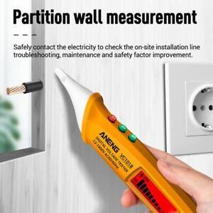 VC1018 Voltage Tester Pen Electric Volt Alert Detector Smart Non-Contact Sensor