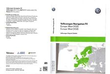 VW RNS 310 AMUNDSEN LATEST V10 2018 Navigation FX SD CARD West Europe SKODA