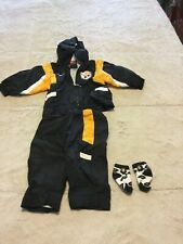 Nike Pittsburgh Steelers 12 Months 3 Piece Outfit ~ Baby Toddler ~ Jacket Pants