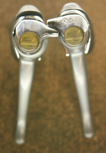 Vintage Shimano 600 Ultegra ST-6400 8 speed brakes levers shifters brifters set