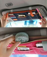 Auto Car Sun Visor Organiser Car Sun Visor Storage Bag Card CD Holder Pouch Bag