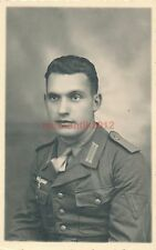 Foto, erst 294/4 Künzing > Wehrmacht, Portrait von Onkel Karl im Süden (N)1858