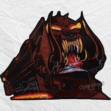 Motorhead Orgasmatron Logo Embroidered Big Patch Lemmy Kilmister Warpig Train