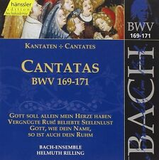 Bach: Edition Bachakademie Vol  51 Cantate  BWV 169 -171 / Helmuth Rilling - CD