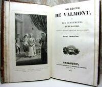 Curiosa. Le Comte de Valmont ou les égarements de la raison + théorie du bonheur