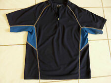 Men'S Champion Athletic Shirt Size L Two Toned Blue Look Hot Stay Cool