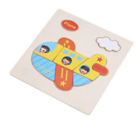 Development Baby Toys Wooden Puzzle Cartoon Learning Educational Kids Toy S