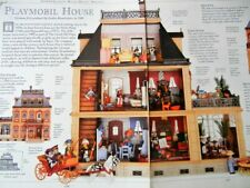 """4p History Article - Brandstatter """"Good Old Days"""" Playmobile Doll House & Family"""