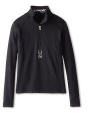 Spyder Kids Savona Therma Stretch T-Neck Shirt Size S (8 Girls) NWT