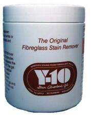 Y10 Fibreglass GRP Cleaner and Stain Remover Gel 340g Boat Caravan Motorhome