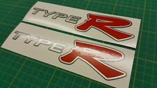 EP3 Civic Type R Type-R JDM side skirt decals Stickers replacement mugen primo