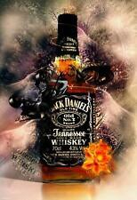 Jack Daniels Poster A4 A3 A2 A1 A0 Gift Present SW0178