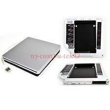 2nd HDD SSD Caddy for Macbook Pro Unibody + USB Enclosure Case for SuperDrive