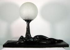 Frankart Era Ronson  Art Deco Nude Lamp