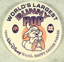 1999 Walt Disney World Easter Parade Bunny Hop Thumper Pin Button Vtg Rare Htf