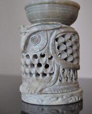 "4"" Stone Tea Light Candle Holder Essential Oil Diffuser Burner Wall & Home Decor"