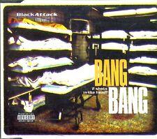 Black Attack - Bang Bang 2 Shots In The Head ♫ Maxi-Single-CD '97 ♫ FAST WIE NEU